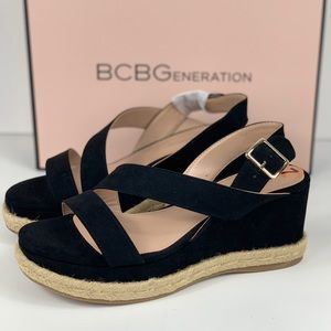 BCBGeneration Wedges Black